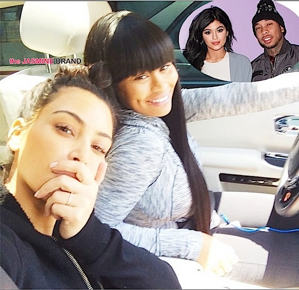 blacc chyna and kim kardashian kylie jenner-tyga-the jasmine brand