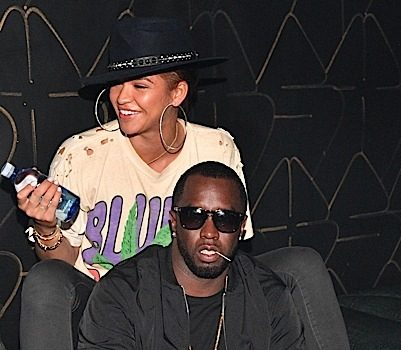 Diddy, Cassie, Jermaine Dupri, Monica Party in ATL [Photos]