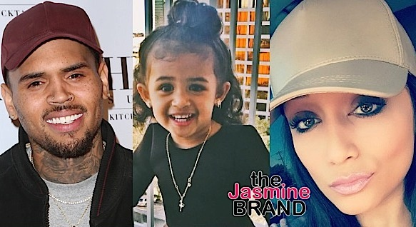 Chris Brown's Deranged Fans Harassing Baby Mama Nia Guzman