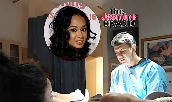 (NSFW) Beautiful or TMI? Draya Michele Shares Footage of Childbirth: Sorry if this offends anyone