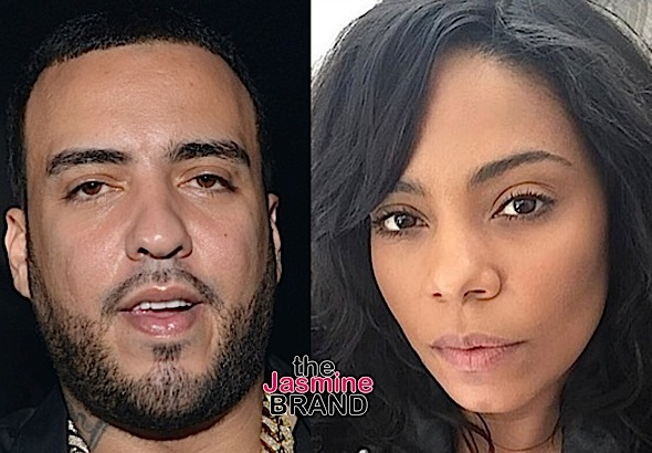 Sanaa Lathan (Sorta) Confirms Dating French Montana