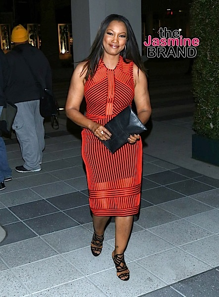 Garcelle Beauvais Sighted Arriving at P.S. Arts' The pARTy at NeueHouse Hollywood on May 20, 2016