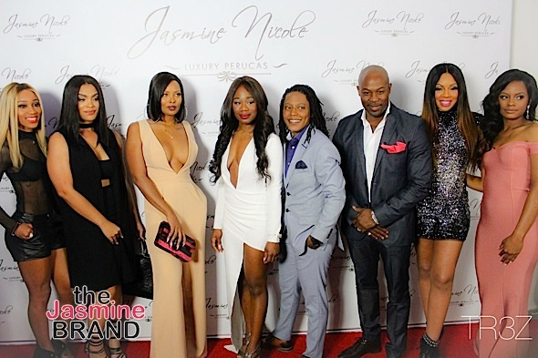 Eva Marcille, Wendy Raquel Robinson, Mehgan James Spotted at JNLP Launch [Photos]
