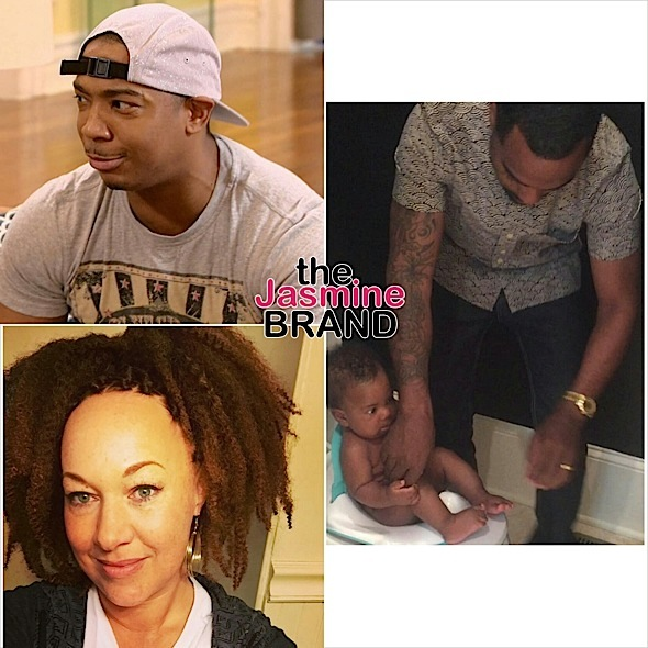 Todd Tucker Potty Trains 4 Month Old Son, Rachel Dolezal Debuts New Hair + Ja Rule Thinks Memes Equals Coins
