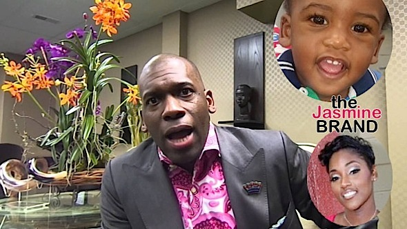 (EXCLUSIVE) Mega Preacher Jamal Bryant Baby Mama Wants Him In Jail: He's late on child support!