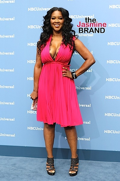 Kenya Moore at NBCUniversal 2016 UpFront Presentation event in NYC