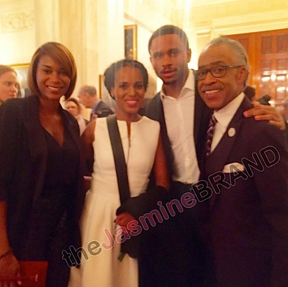 kerry washington-rev al sharpton-the jasmine brand