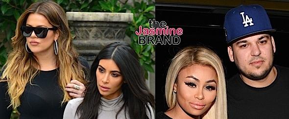 """Kim & Khloe Kardashian Say Rob Kardashian Has """"No Loyalty"""" to His Family"""