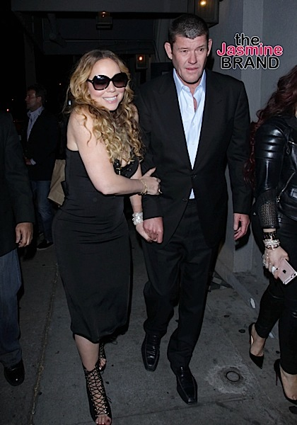 Mariah Carey and James Packer Sighted Departing Craig's Restaurant in Beverly Hills on May 21, 2016