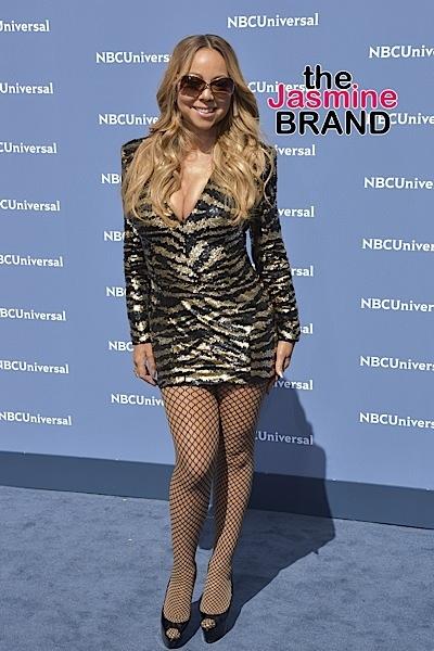 Mariah Carey at NBCUniversal 2016 Upfront Presentation