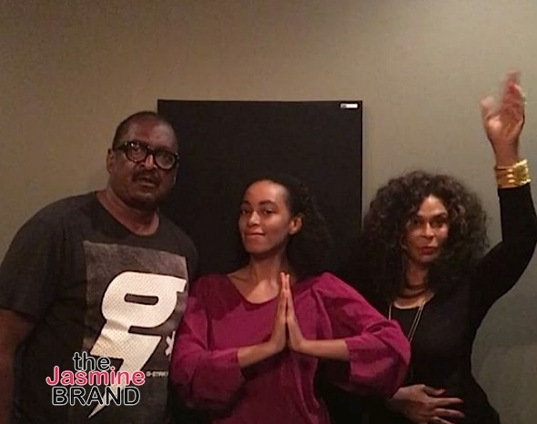 Mathew Knowles, Solange Knowles, Tina Lawson