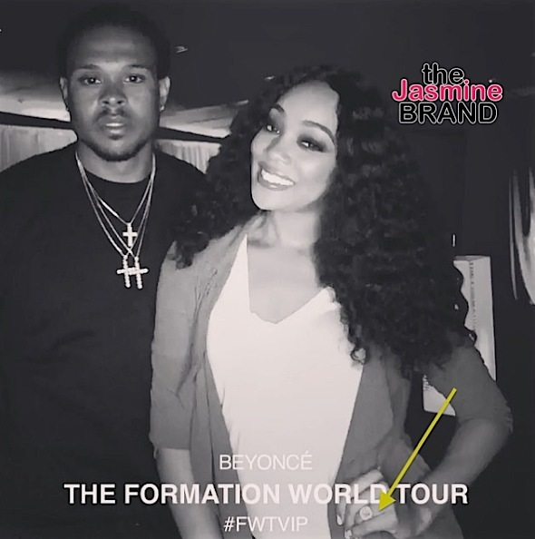 Monica & Husband Shannon Brown Make 1st Public Appearance, Since Cheating Rumors