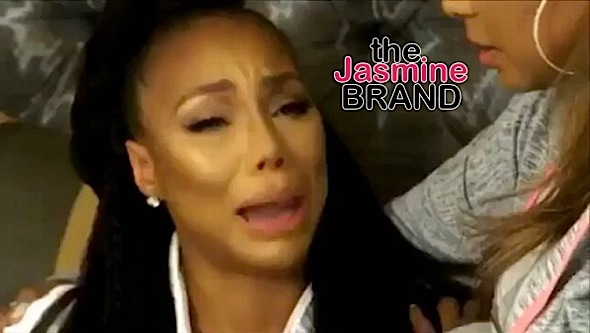tamar braxton crying