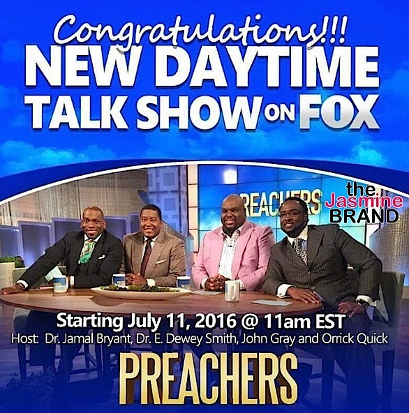 New Talk Show 'The Preachers' Features Outspoken Pastors