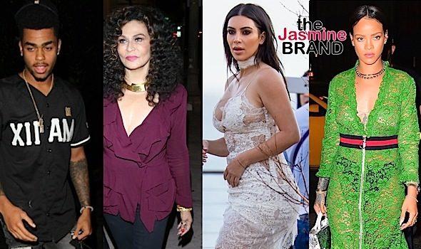 Rihanna Rocks Gucci in NYC, Kim Kardashian Hits Disick's B-Day, Tina Lawson Dines in Hollywood + DeAngelo Russell, Malika Haqq, Kourtney Kardashian