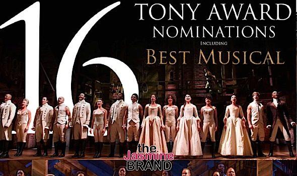 'The Color Purple' Snags Tony Nom, 'Hamilton' Nabs Record 16 + See Complete Tony Award Nominations List!
