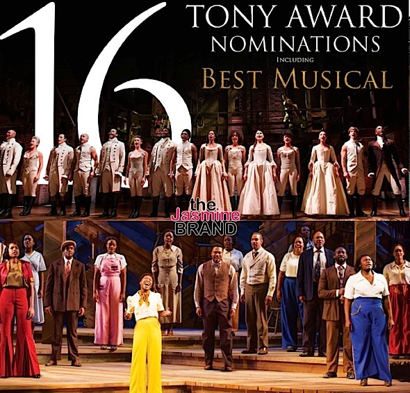 'The Color Purple' Snags Tony Nom, 'Hamilton' Nabs Record 16 + See Complete Tony Award Nominations List!