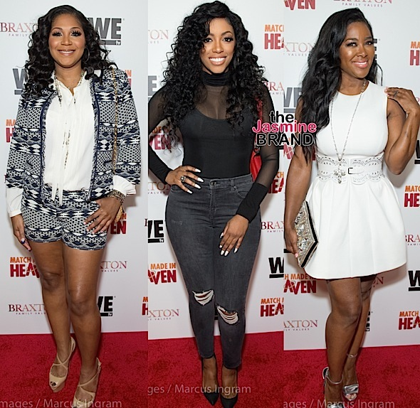 Trina Braxton, Porsha Williams, Kenya Moore