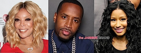 Wendy Williams, Safaree Samuels, Nicki Minaj