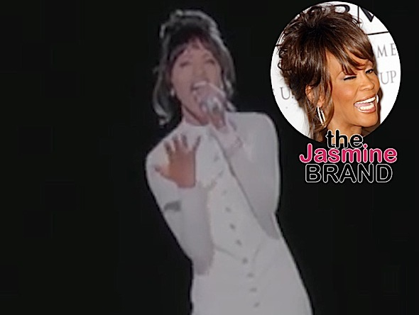 Whitney Houston's Hologram Duet With Christina Aguilera Leaked! [VIDEO]