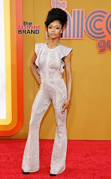 "05/10/2016 - Yaya DaCosta - ""The Nice Guys"" Los Angeles Premiere - Arrivals - TCL Chinese Theatre - Hollywood, CA, USA - Keywords: Orientation: Portrait Face Count: 1 - False - Photo Credit: David Gabber / PRPhotos.com - Contact (1-866-551-7827) - Portrait Face Count: 1"