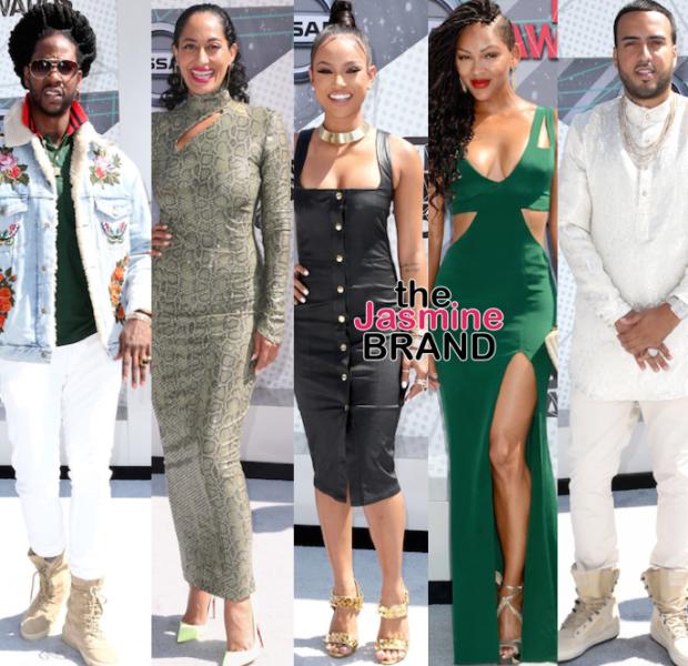 BET Awards Red Carpet: Tracee Ellis Ross, Meagan Good, French Montana, Loni Love, Karrueche Tran, Janelle Monae, Alexis Ayaana, 2 Chainz [Photos]