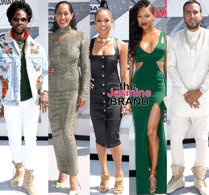 2 Chainz, Tracee Ellis Ross, Karrueche Tran, Meagan Good, French Montana