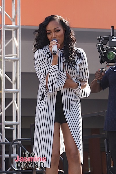 LOS ANGELES, CA - JUNE 18: Singer Monica performs at the 2016 BET Experience at Baldwin Hills Crenshaw Plaza on June 18, 2016 in Los Angeles, California. (Photo by Earl Gibson/BET/Getty Images for BET)