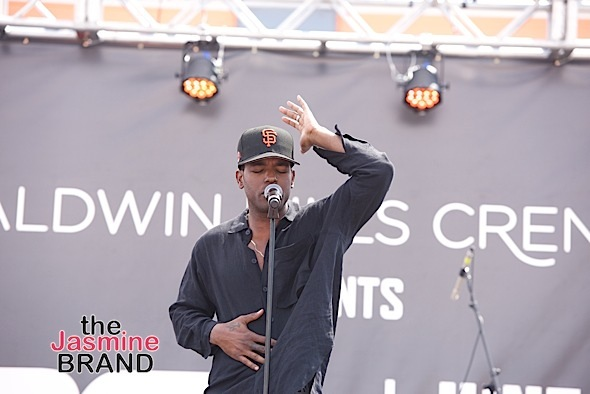 LOS ANGELES, CA - JUNE 18: Singer-Songwriter Luke James performs at the 2016 BET Experience at Baldwin Hills Crenshaw Plaza on June 18, 2016 in Los Angeles, California. (Photo by Earl Gibson/BET/Getty Images for BET)