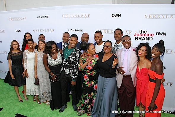 """LOS ANGERLES, CA - JUNE 15: _ _ _ _ seen at OWN: Oprah Winfrey Network Presents: Los Angeles Premiere of """"Greenleaf"""" Season 1 on Wednesday, June 15, 2016 at The Lot in West Hollywood, California. (Photo by @ArnoldShoots)"""