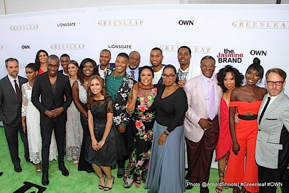 "OWN Premieres ""GREENLEAF"": Oprah, Lynn Whitfield, Merle Dandridge, Lamman Rucker & Cast Attend [Photos]"