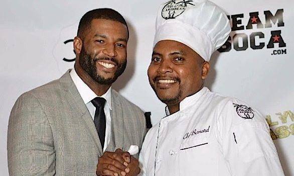 Robert Riley & Celebrity Chef Bernard James Celebrate TOCLA Catering [Photos]