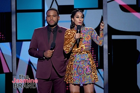 Black-ish stars Anthony Anderson, Tracee Ellis Ross