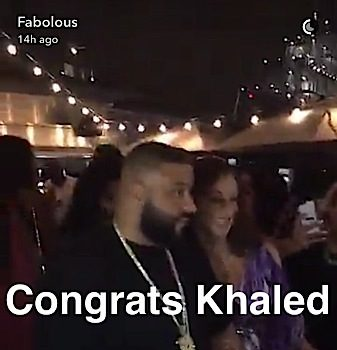 DJ Khaled Is Having A Baby Boy! Celebrates With Huge Celebrity Bash: French Montana, Fabolous, Remy Ma, Future Attend [Photos]