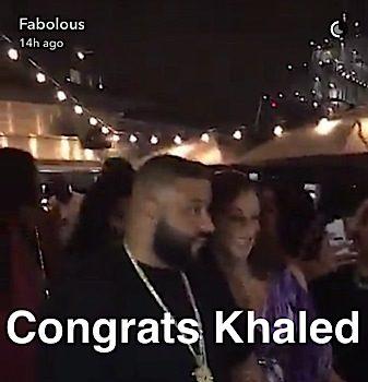 DJ Khaled Is Having A Baby Boy! Celebrates With Huge Celebrity Bash: French Montana, Fabolous, Remy Ma, Future Attend [Photos]
