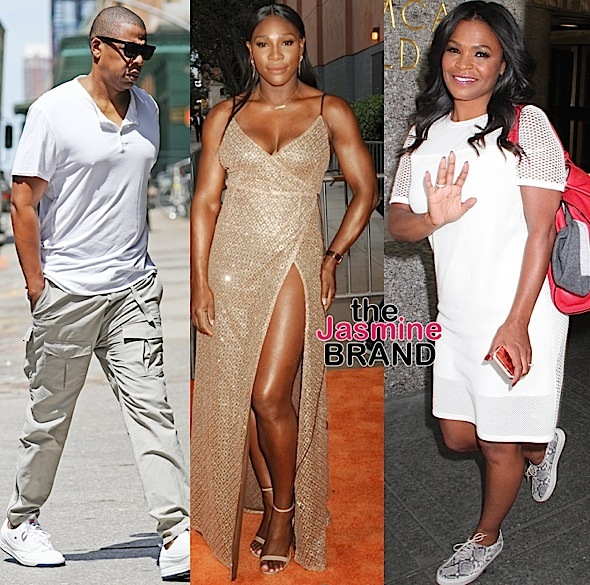 Jay Z, Serena Williams, Nia Long