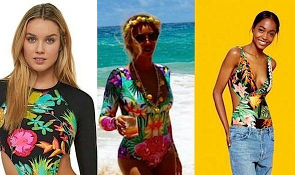 Get the Look! Snag Beyonce's Hawaii Swimsuit [Photos]