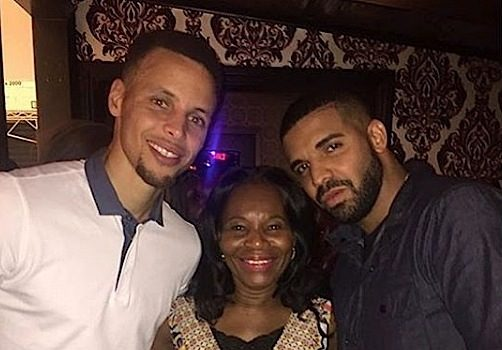 Drake Spotted At Steph Curry's Wife 'International Smoke' Popup Restaurant [Photos]