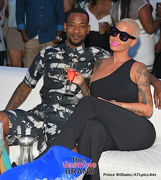 Terrence Ross, Amber Rose