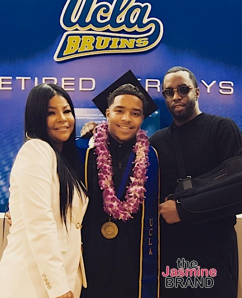 Justin Combs First Member of Diddy's Family To Graduate College [Photos]