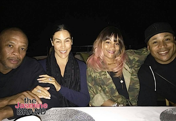 Dr. Dre and his wife, vacay with LL Cool J and his wife Simone Smith in Italy.