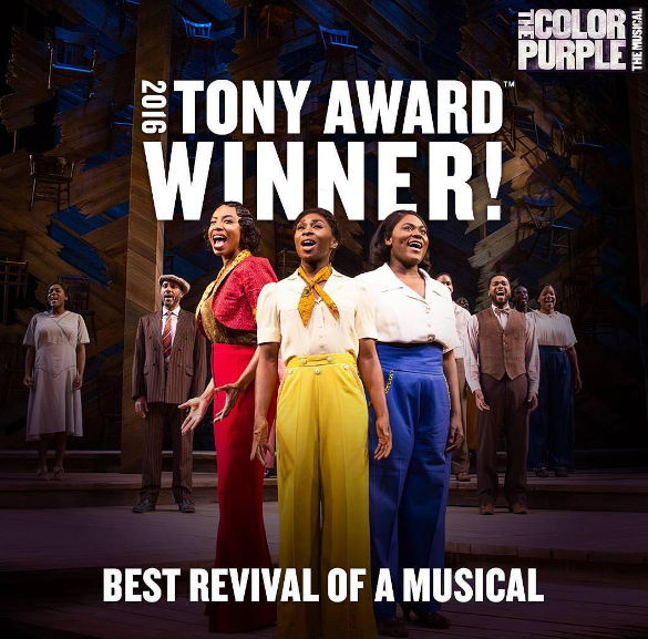 'The Color Purple', Cynthia Erivo, Leslie Odom Jr., 'Hamilton' Snag Tony Awards + See Complete Winner List