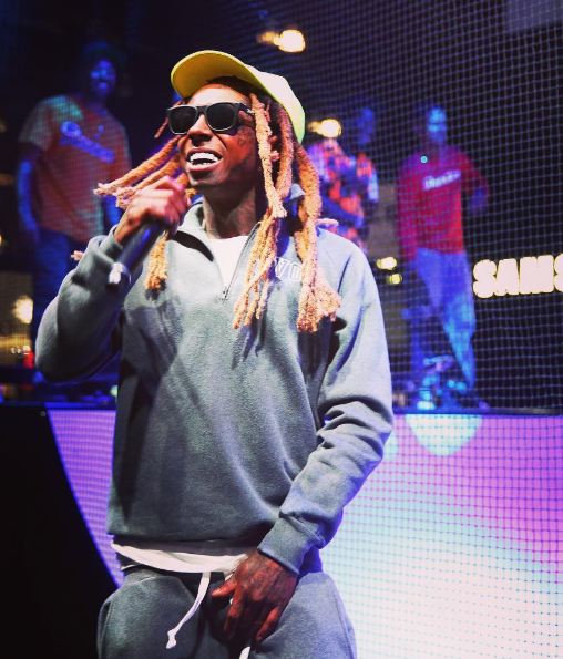 Lil Wayne Hits the Stage, Days After Having Seizures [VIDEO]