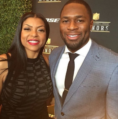 Taraji P Henson's Ex-NFL Boo Accused of Cheating On Her With His Ex