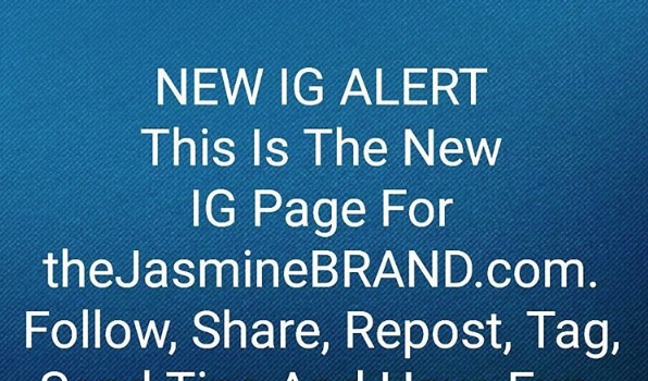Follow Our New Instagram: @theJasmineBRAND_