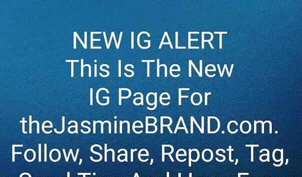 Follow Our New Instagram: @theJasmineBRAND_