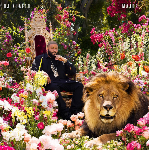 DJ Khaled Debuts Album Cover [Photo]