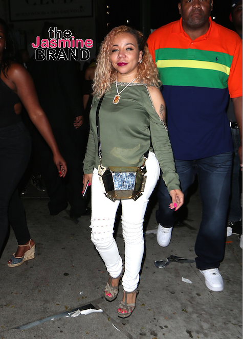 Tameka 'Tiny' Harris Parties At Playhouse Night Club in Hollywood.
