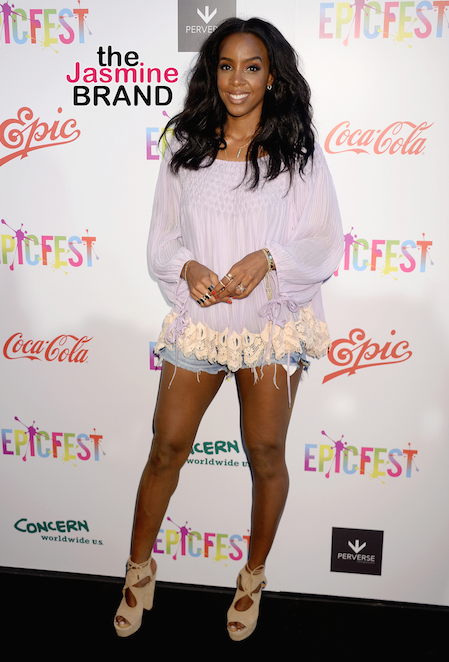Kelly Rowland at the Epic Fest in LA.