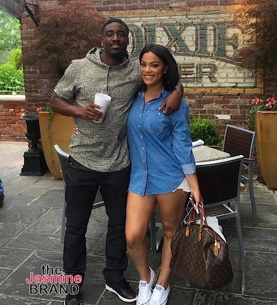 NFL'er Kayvon Webster and ex Basketball Wives LA's Mehgan James